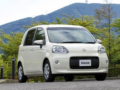 Каркасные шторки на Toyota Porte NNP10 правый руль (3-дв., с 2004 по 2012)