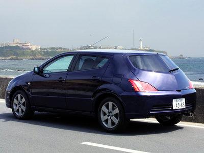 Каркасные шторки на Toyota Will VS (5-дв., с 2001 по 2004)