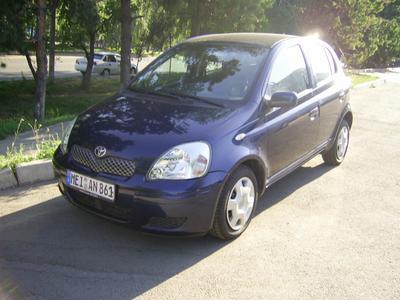 Каркасные шторки на Toyota Yaris (5-дв., с 1999 по 2005)