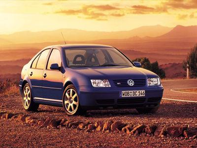 Каркасные шторки на Volkswagen Bora (с 1998 по 2005)