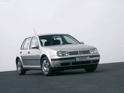 Каркасные шторки на Volkswagen Golf 4 (5-дв., с 1997 по 2005)