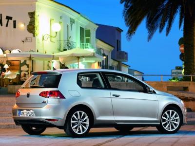Каркасные шторки на Volkswagen Golf 7 (3-дв., с 2012 по н.в.)
