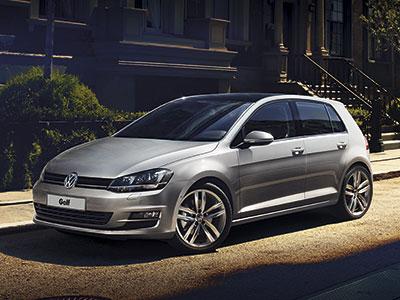 Каркасные шторки на Volkswagen Golf 7 (5-дв., с 2012 по н.в.)