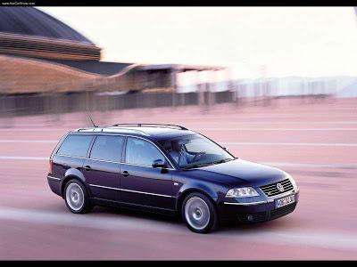 Каркасные шторки на Volkswagen Passat B5+ универсал (2000 - 2005)