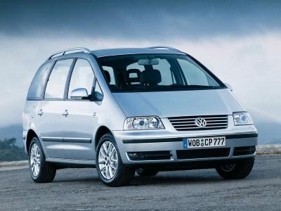 Каркасные шторки на Volkswagen Sharan 1 с ручным открыванием форточек (с 1995 по 2010)