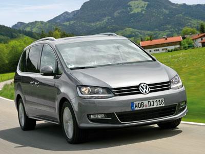 Каркасные шторки на Volkswagen Sharan 2 Mk2 (с 2010 по 2015)