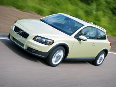 Каркасные шторки на Volvo С30 (3-дв., с 2006 по 2013)