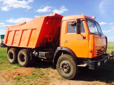 Каркасные шторки на КАМАЗ 65115