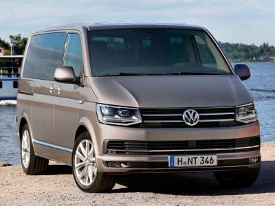 Каркасные шторки на Volkswagen Multivan T6 (с 2015 по н.в.)