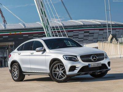 Каркасные шторки на Mercedes-Benz GLC Coupe C253 (с 2015 по н.в.)